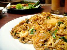 中国食品 (Chinese food) 沙河粉, shā hé fěn (Kwetiau)