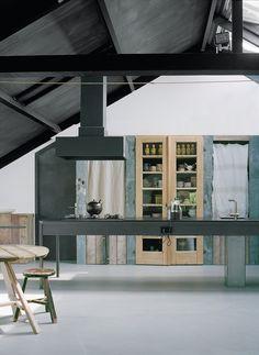 Gray Kitchen-Contemporary- Minimal