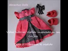 Muñeca Susan inspirada en las Gorjuss - Hacemos  el Vestido de Lunares