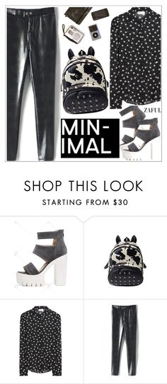"""""""Zaful"""" by teoecar ❤ liked on Polyvore featuring RED Valentino and zaful"""