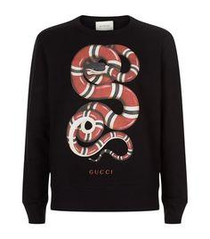 357d0daee44ff GUCCI Red Snake Jumper.  gucci  cloth   Gucci Shirts Men