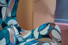 Farbenfrohes #Design im Hotel Eden Roc in Ascona #edenrocascona #edenmoment #CarloRampazzi Das Hotel, Hotels, Chair, Design, Furniture, Home Decor, Decoration Home, Room Decor