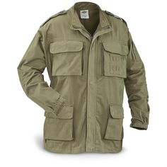 5ive Star Gear Concealed Carry Field Jacket, Stonewashed