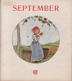 rie cra er | Rie Cramer, maandenboeken : September, herfstmaand. - Verzamelwaardige ...