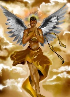 """""""Praying Angel"""", by Kevin A. Johnson."""