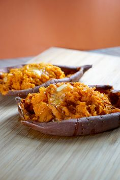 Microwave Sweet Potato Mash