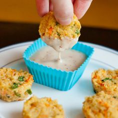 Cheesy Quinoa Bites – the perfect bite-sized recipe to start off a healthy and delicious new year!