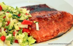Thanks For The Food - A Norwegian Food Blog: Easy Salmon Marinade