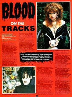 The Cramps [Blood On The Tracks] Star Hits 1984