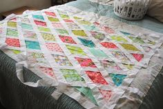 April: Around Here #baby #quilt