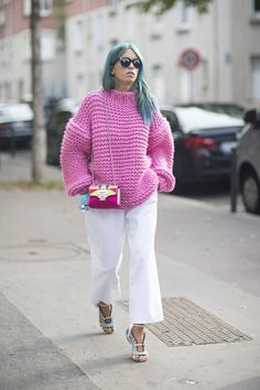 Trending Now: Chunky Sweaters - Helena Bordon - MAXI SWETER - MAXI TRICOT