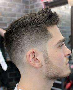 Modern Short Spiky Haircuts for Men Mens Hairstyles 2014, Boy Hairstyles, Haircuts For Men, Trendy Hairstyles, Hairstyle Men, Men's Haircuts, Ponytail Hairstyles, Hair Ponytail, Layered Haircuts