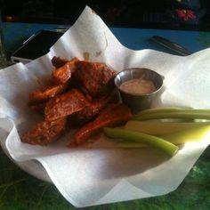 Buffalo Seitan Wings