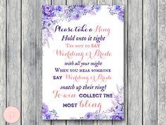Blue Don't Say Wedding or Bride Game Don't Say a by BrideandBows #babyshowerideas4u #birthdayparty  #babyshowerdecorations  #bridalshower  #bridalshowerideas #babyshowergames #bridalshowergame  #bridalshowerfavors  #bridalshowercakes  #babyshowerfavors  #babyshowercakes