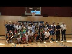 The VPD Police Athletic League Basketball Team took on the Musqueam Basketball Team during their annual summer camp. Lifetime Basketball Hoop, Xavier Basketball, Basketball Court Size, Basketball Finals, Basketball Uniforms, Basketball Sneakers, Basketball Teams, Louisville Basketball, Camping Near Me
