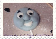 Thomas the Train cake tutorial - pinned for the how to on on his face