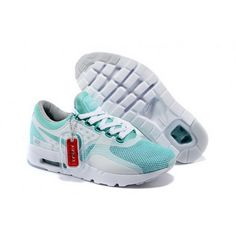 huge selection of 2bbfc 8ab50 Women Nike Air Max Zero Qs Shoes Mint Green White Nike Air Max 87, New