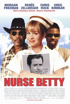 Nurse Betty is a quaint little comedy starring Renée Zellweger as a wife, after her husband is murdered in front of her, become obsessed with a soap opera star, Greg Kinnear. She leaves her home to be with him with the killers in tow because she has the drugs they want in her car. Zellweger is excellent in this movie, as shown by her nomination for a Golden Globe for her role. Definitely worth watching.