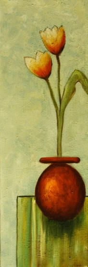 cuadros de macetas con flores