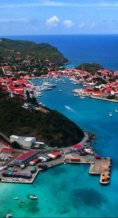 The romantic and sophisticated island of St. Barths ~ French Antilles