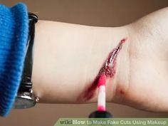 Image titled Make Fake Cuts Using Makeup Step 4