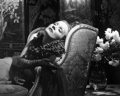 Marlene Dietrich by Edward Steichen,1932.