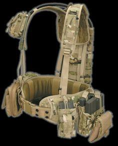 Light Weight Battle Rig M.O.L.L.E. Based Load Bearing System ..j