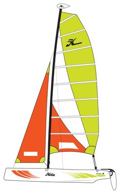 Hobie Getaway Catamaran Sailboat Redesigned Hulls for 2018 Take the party on the water with the Hobie Getaway. If you want to be sailing with friends and family, the Hobie Getaway is a sure-fire ticket to multihull fun. Catamaran, Paddle Boarding, Surfboard, Kayaking, Sailing, Sailboats, Boards, Candle, Sailing Yachts