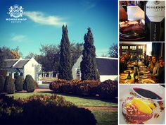 It's a lovely day for lunch on the estate! Delicious food, stunning views and superb wines. Come and enjoy the beautiful weekend with us.