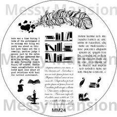 Messy Mansion Scriptorium MM25