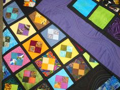 Turn Your Quilt Scraps into Jewels! Quilt As You Go Angel Jewels Quilt Blocks