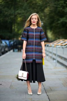 Kate Foley in Suno with a Chloe Bag