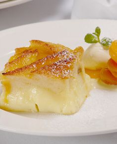 Bread and Butter Pudding - Paul Heathcote - A cosy and comforting dessert.