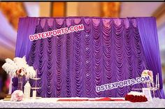 #Wedding #Elegent #Mandap #Stage #Backdrop #Curtains #Dstexports