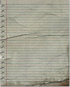 Ripped Lined Paper Texture | inspirationhut.net