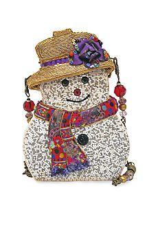 Mary Frances Snow Belle Shoulder Bag