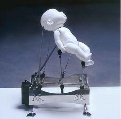 Cybernetic Kinetic Sculptures by Ziwon Wang