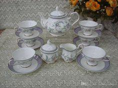 British Royal Bone China Coffee Cups Ceramic Tea Cup & Saucer Set Gift//Drinkware set /Noble/Luxury/gold