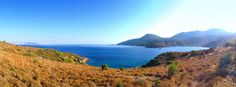 Amazing Panorama view of Kargı Bay on the right and Greek Island Simi on the far left...  #datca #travel #holiday #vacation #amazing #landscape #island #turkey #greece
