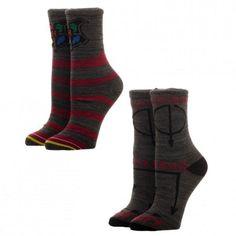 Harry Potter 2 Pack Jrs. Crew Sock
