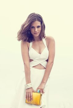 Lyndsy Fonseca poses for Bello Magazine August 2013 Lyndsy Fonseca, Gorgeous Women, Beautiful People, Celebrity Outfits, Celebrity Pictures, Famous Women, Beautiful Actresses, Two Piece Skirt Set, Celebs