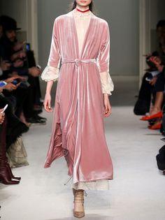 Luisa Beccaria Fall 2016.  Milan Fashion Week.