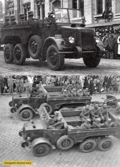 Defence Force, War Dogs, World War Two, Hungary, Military Vehicles, Wwii, Monster Trucks, Army, Trucks