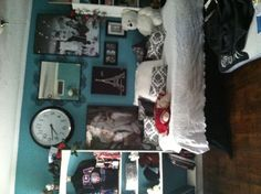 Skyler's Tiffany Blue bedroom !