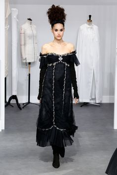 The Chanel couture collection.