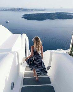 Santorini pinterest | @catherinelu1