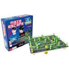 Maze Escape Wooden Board Game