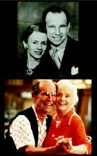 Hume Cronyn & Jessica Tandy - married 50 yrs until she died in the 90's. Beautiful couple indeed <3