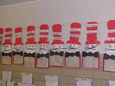 Dr Suess school-ideas