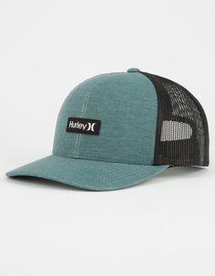 fc14f77309e HURLEY El Morrow Mens Trucker Hat - BLUE - MHA0008230-09E